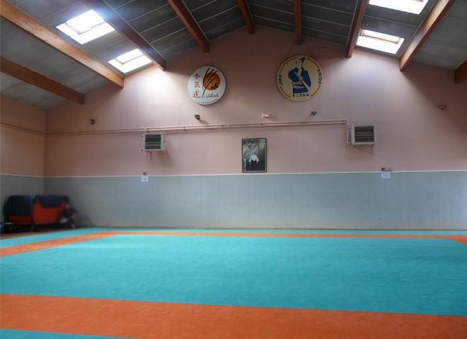 Dojo de l'Aïkido Club de St Symphorien d'Ozon, Salle Henry Cochet